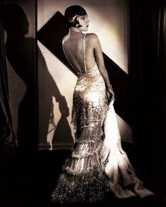 Gatsby style: wedding inspiration - part 1 Gatsby Style, Flapper Style, 1920s Style, 1920s Flapper, 1930s Fashion, Vintage Fashion, Flapper Fashion, Retro Fashion, Film Fashion