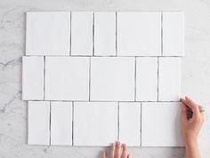 White Square Tiles, Online Tile Store, Herringbone Tile, Subway Tile Backsplash, Tile Stores, Color Tile, Tile Patterns, Newport, Bathrooms