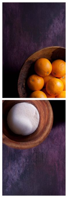 Naranjas y azucar Serving Bowls, Eggs, Breakfast, Tableware, Food, Dressings, Dessert Food, Orange Leather, Berries