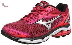 Mizuno Wave Inspire 13 (w), Chaussures de Running Entrainement Femme, Rouge (Persian Red/Silver/Black), 40 EU - Chaussures mizuno (*Partner-Link)