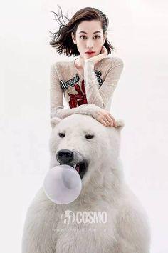 Kiko Mizuhara for Cosmopolitan China December 2015. Photo by: Chen ManView all photos here.