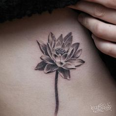 July/ water lily in front of the moon phase chest piece possibly? Lilly Flower Tattoo, Birth Flower Tattoos, Lily Tattoo Design, Flower Tattoo Designs, Waterlilly Tattoo, Small Tattoos, Cool Tattoos, Tatoos, Larkspur Tattoo