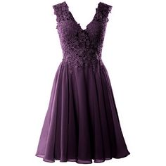 MACloth Gorgeous V Neck Cocktail Dress Short Lace Prom Homecoming... (7.075 RUB) ❤ liked on Polyvore featuring dresses, gowns, lace prom dresses, formal prom dresses, short dresses, purple lace dresses and homecoming dresses