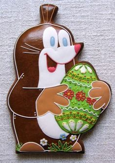 Easter Cookies, Fun Cookies, Holiday Cookies, Halloween Christmas, Christmas Holidays, Gingerbread Man, Easy Desserts, Cookie Decorating, Ornament