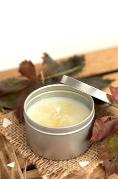 DIY Fall Scented Soy Wax Candles