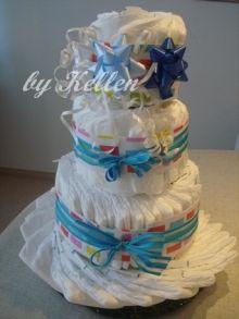 a diaper cake