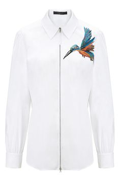 19 Not-So Basic White Shirts