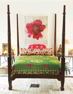 haute hippie:  bedrooms with a bohemian vibe
