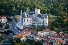 ✈️ Photo aérienne de : La Rochefoucauld - Charente (16)