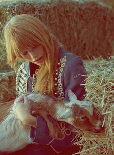 The Harper Smith Libertine Fashion Editorial is Wild and Fresh #fashion trendhunter.com