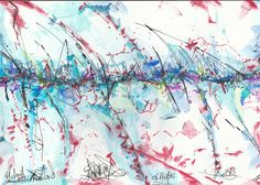Abstract Watercolor Art on Paper 2016 Andreas Riegger Abstract Watercolor Art, Ink Art, A4, Artsy, Paper, Artwork, Pencil, Watercolor, Work Of Art