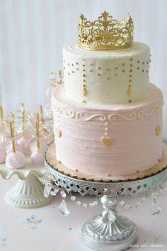 Cake Pops Pink and Gold . Cake Pops Pink and Gold . Mint Green Pink and Gold Cake Pops Baby Cakes, Baby Shower Cakes, Pink Cakes, Torta Candy, Fete Emma, Rodjendanske Torte, Sweet 16 Cakes, Baby Shower Princess, Pink Princess Party