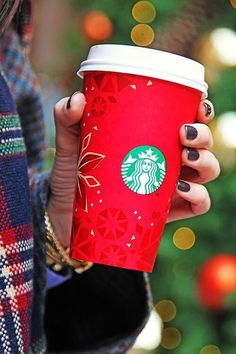 Bring out the Starbucks Red Cups for Christmas!