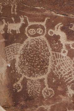 Rock art from Nine Mile Canyon, Utah
