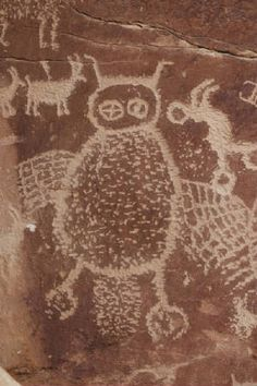 Rock art from Nine Mile Canyon, Utah