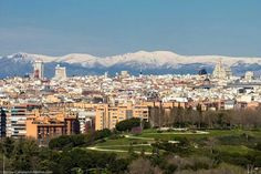 Madrid desde la Ronda Sur de Entrevías, MADRID