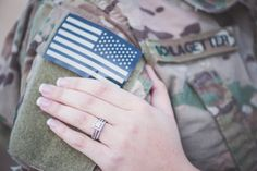 Pin for Later: You're Worth the Wait: A Predeployment Engagement Shoot Photo by Ashley Durham Studios