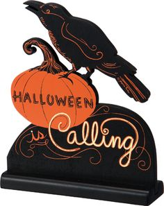 Item # 24779 | Stand-Up - Hween Calling | Primitives by Kathy