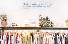 Découvrez comment se déroule un shopping tour avec Emilie de Dressing Responsable, pour vous aider à faire des achats plus réfléchis et à dénicher les plus jolies boutiques de créateurs responsables et éthiques de Paris ! www.sweetandsour.fr