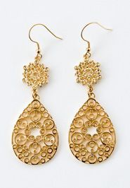 Filigree Paisley Earrings by Noonday ...