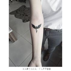 Phoenix http://instagram.com/karincatattoo #phoenix #arm #tattoo #design #tattoos #smalltattoo #minimaltattoo #littletattoo #ankakuşu #anka #dövme #dövmeci #dövmestüdyosu #acıbadem #kadıköy #tasarım #istanbul