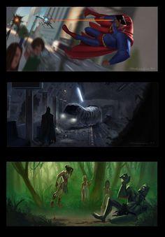 Liga de la Justicia by PIXAR