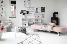 VM designblogg: Με ροζ πινελιές σε παγωμένο λευκό