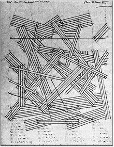 Kenneth Martin, Chance and Order Drawing