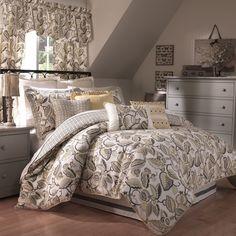 Fantasy Fleur 4 Piece Comforter Set | Wayfair