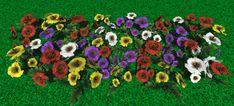 Cartoon style flowers #cartoon #flowers  for #Unity3d