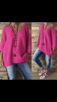 Knitting Paterns, Knitting Blogs, Knitting Wool, Knitting Designs, Sweats Outfit, Casual Outfits, Fashion Outfits, Knit Fashion, Colourful Outfits