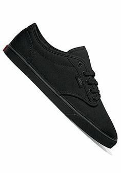vans atwood low black womens
