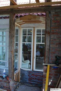 Vinterträdgård / Orangeri / Växthus - Hemma hos Boromir Patio, Garden Inspiration, Villa, Diy Projects, Windows, Architecture, Chicken Tractors, House, Image