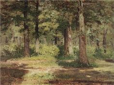 Forest. Sunny Day. - Isaac Levitan