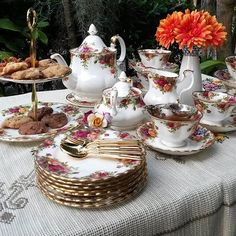 Old Country Roses Tea Party....