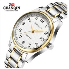 Famous Brand GUANQIN Men Mechanical Watch Fashion Luxury Waterproof Watches Men Steel Wrist Watches Relogio Masculino Reloj     Tag a friend who would love this!     FREE Shipping Worldwide     Buy one here---> https://shoppingafter.com/products/famous-brand-guanqin-men-mechanical-watch-fashion-luxury-waterproof-watches-men-steel-wrist-watches-relogio-masculino-reloj/