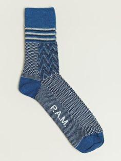 PAM Men's Buzzin Mess Mid Sock