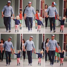 Jamie and Dulcie in Vancouver. Fifty Shades Darker, Fifty Shades Of Grey, Jamie Dornan Daughter, Johnson Family, Jaime Dornan, Picture Albums, Mr Grey, Bae, Christian Grey