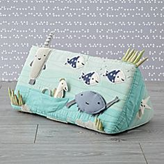 sewing ideas for babies - Shop Ocean Tummy Time Toy. This tummy time toy is sure to get your little one's curiosity flowing. It's brimming with deep-sea surprises, from a hidden lobster and a rattling fish to a squeaky stingray. Baby Activity Chair, Baby Activity Gym, Activity Mat, Baby Play, Baby Toys, Kids Toys, Baby Tummy Time, Easy Baby Blanket, Best Baby Gifts