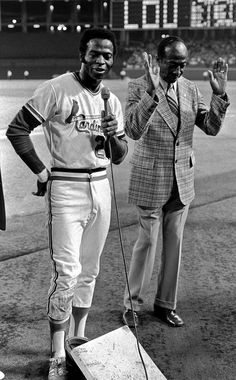 Sporting News: Sept. 11, 1974 - Lou Brock of the St. Louis...