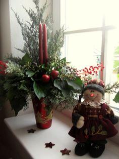 Vianočná dekorácia okna