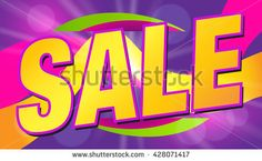 Sale Concept. Sale Vector. Sale Banner or Poster. Summer Sale and Clearance Card. Sale and Discounts Background. Holiday Sale. Summer Sale Design Template. Sale Sticker. Sale Label. Fashion Sale. - stock vector