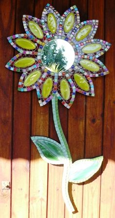 mosaic flower       #mosaic #design