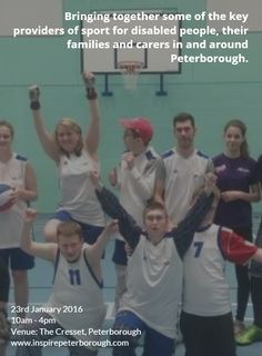 There will be an opportunity to register for the Inclusive Sport Peterborough programme, which has been funded by Sport England and the National Lottery.   #SportingSaturday2016 #Peterborough #DisabilitySport #Cricket #SoftArchery #Boxing #Rowing #MartialArts