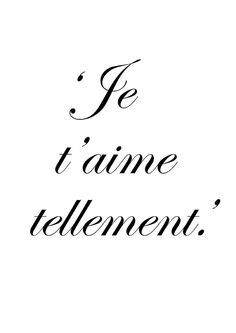 ♔ I love t You dit elle .....simplement . ...!! Sauf qu'il entrave que dalle.... ( de pierre )