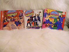 Disney IMAGINATION MOVERS CD Lot of 3 Music CDs Juice Box Heroes Hop Warehouse