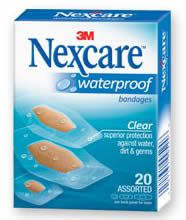 FREE Nexcare Waterproof Bandage Sample on http://www.icravefreebies.com/