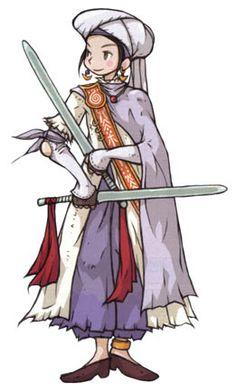 Human Paladin - Characters & Art - Final Fantasy Tactics Advance