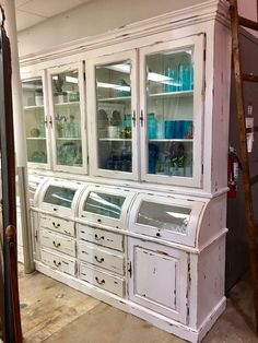 """New Beautiful Cabinet 90""""W x 20""""D x 86""""H made of solid mahogany ( Furniture ) in Frisco, TX - OfferUp"""