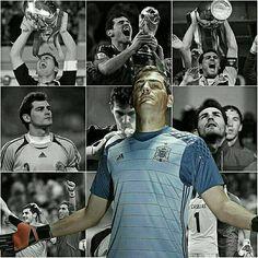 Iker Casillas se retira del Fútbol Internacional. Una leyenda más del fútbol. GRANDE!  #Iker #España